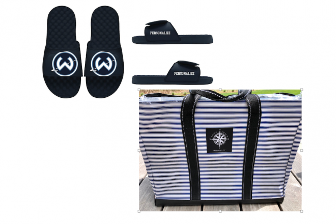 Class of 2023 Fundraiser Offers Personalized Wilton Slides & SCOUT Bags