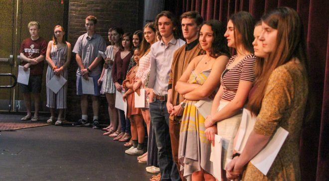 WHS's Fine & Performing Arts Awards Recognize Student Talent