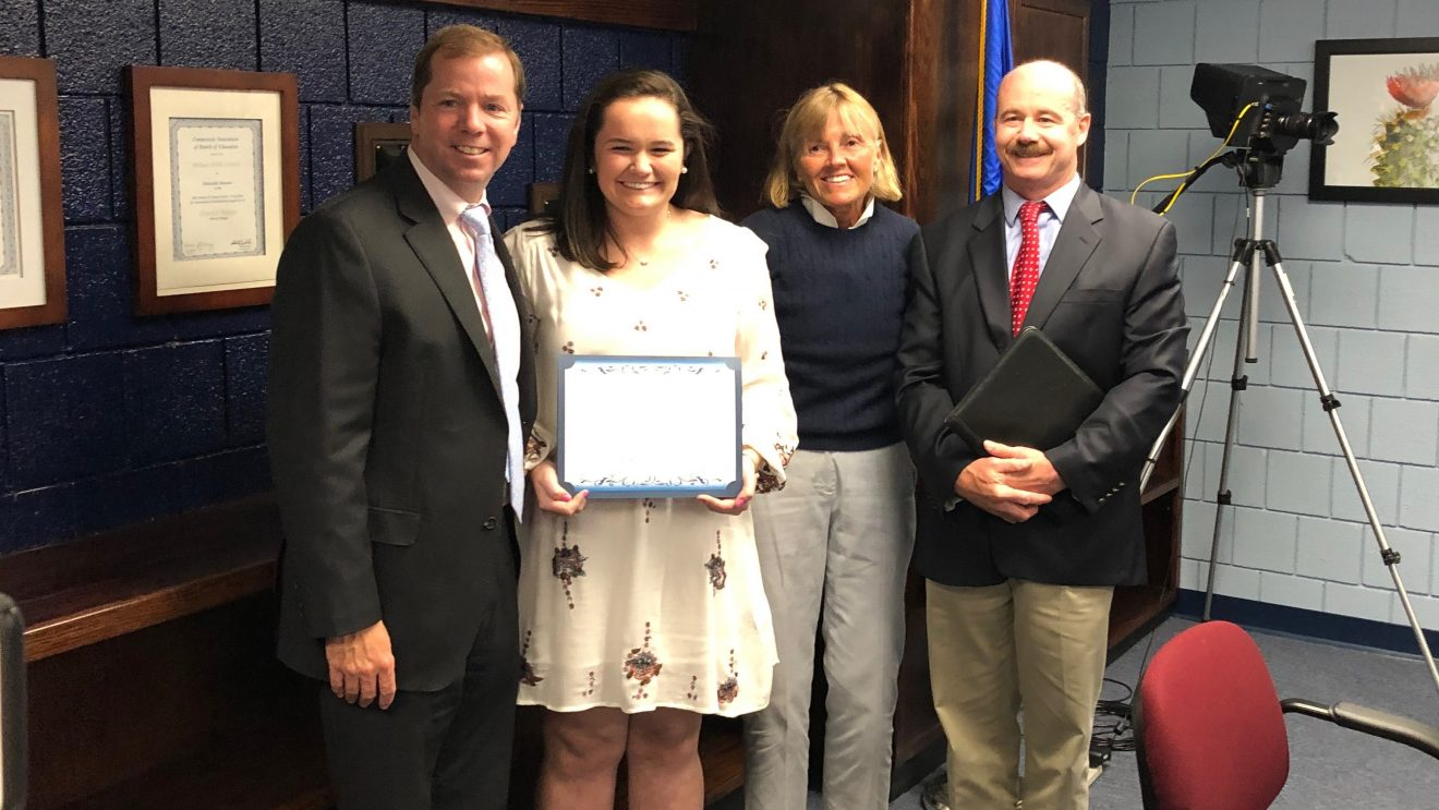 Board of Education Recognizes CABE Student Leadership Award Winners