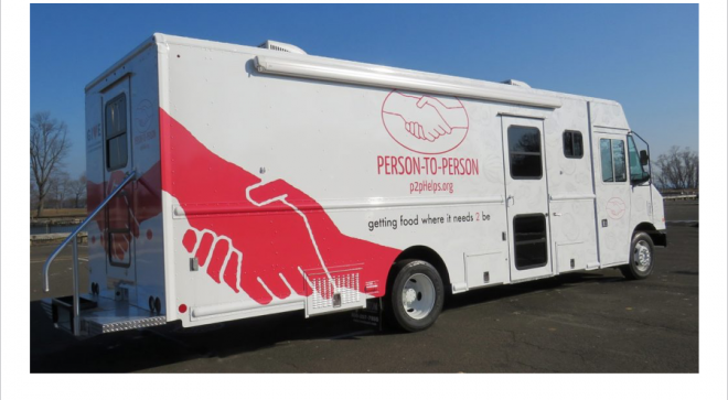 Wilton Congregational Church & P2P Fill-A-Food-Pantry-Truck Event