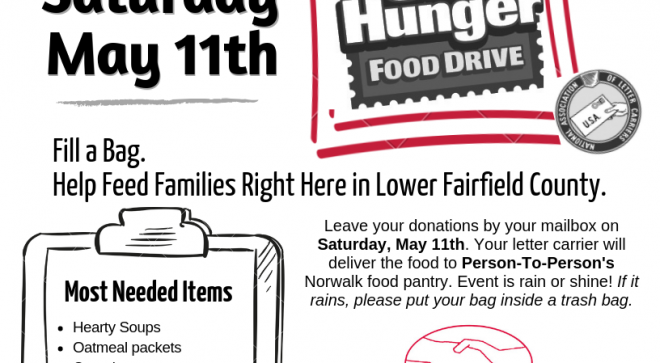 Stamp Out Hunger with Person-to-Person!