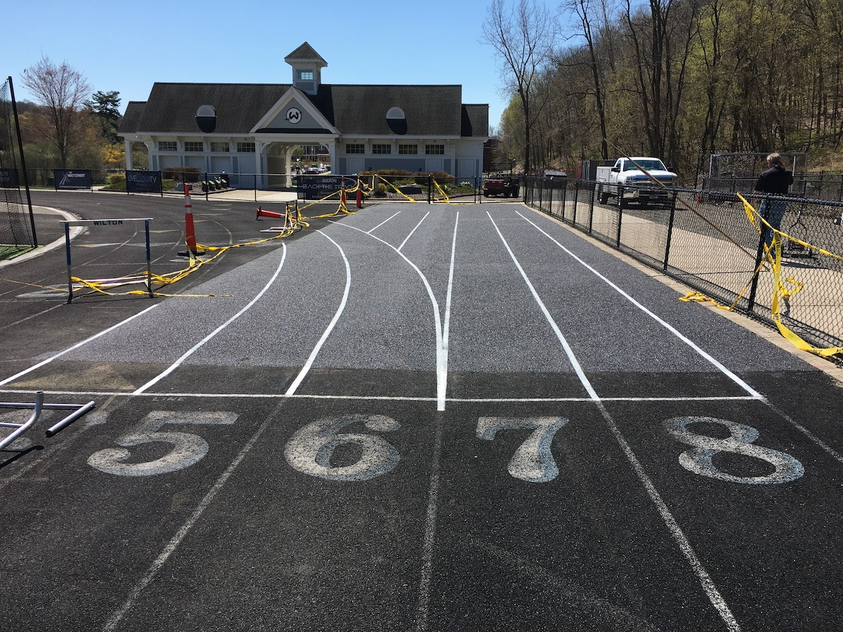 Saturday's 'Back the Track' 5K Fundraiser Part of Marathon Effort to Fix Wilton's Running Track