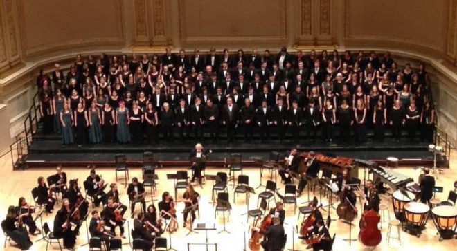 Wilton High School Students Sing at Carnegie Hall