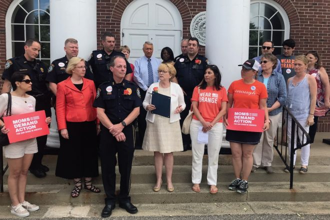 Town Proclamation Read for Gun Violence Awareness Day [PHOTOS/VIDEO]