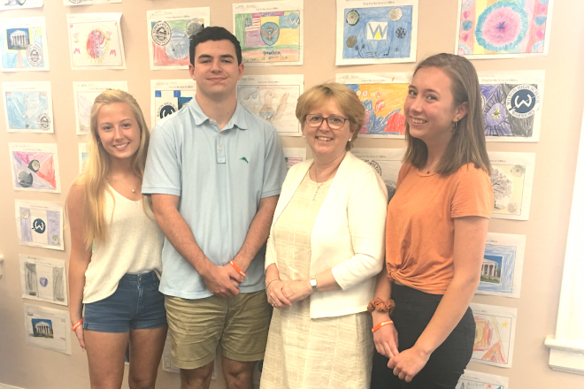 The GMW Intern Q&A:  Talking with First Selectwoman Lynne Vanderslice
