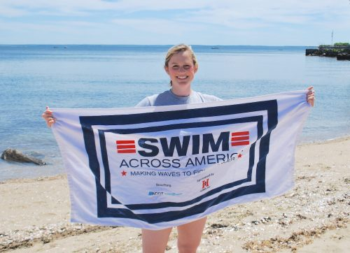 Wilton Residents Make Waves to Fight Cancer in Swim Across America Open Water Swim