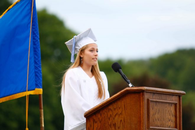 WHS Graduation 2019 Speeches:  Kimberly Castano, Class of 2019 VP–Presentation of Class Gifts