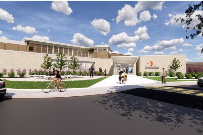 YMCA Invites Community to Beam Signing & Construction Topping Off FREE Lunch Event