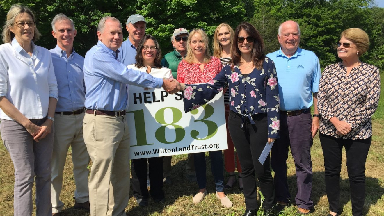Save 183 Ridgefield Rd. Gets $28,000 Donation from Wilton Woman's Club