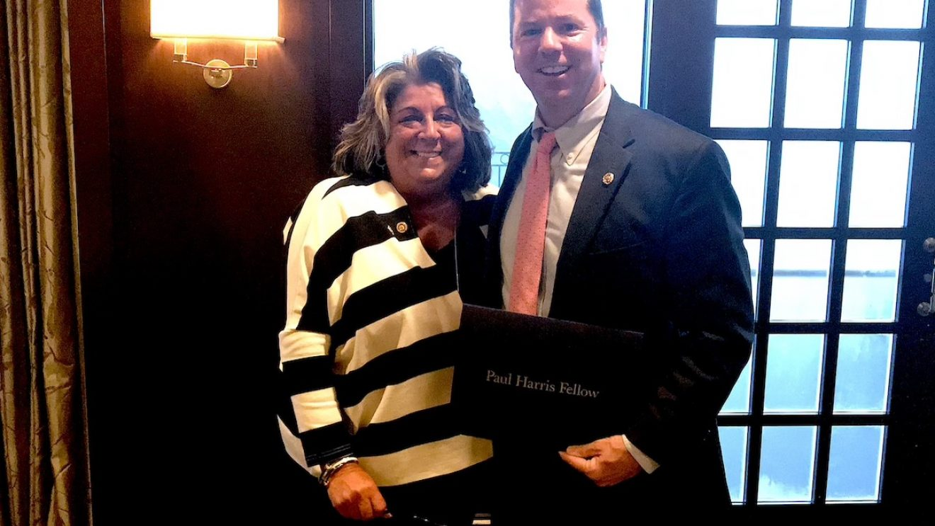 "Rotary Club Honors School Superintendent Kevin Smith for ""Service, Ethics and Goodwill"""