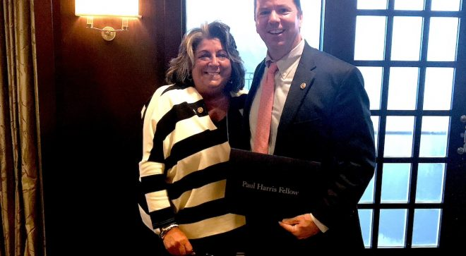 """Rotary Club Honors School Superintendent Kevin Smith for """"Service, Ethics and Goodwill"""""""