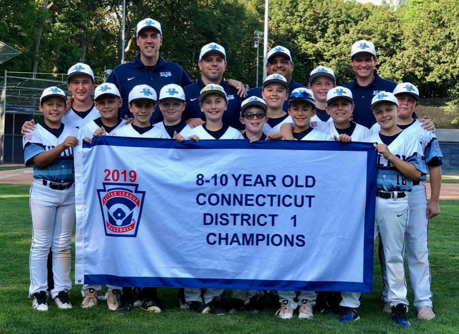 Wilton's 10U All-Star Baseball Team Wins District One Championship
