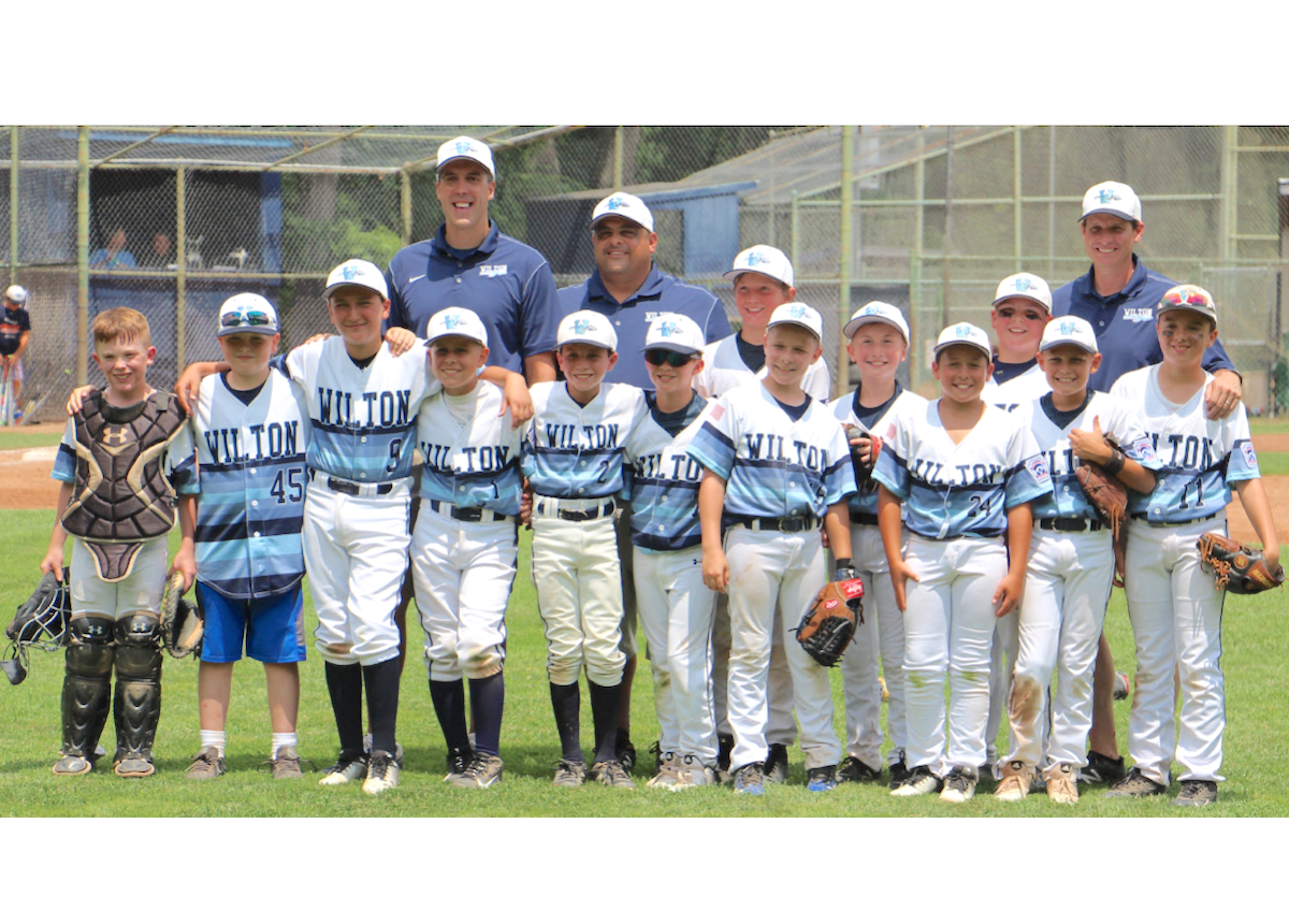 Wilton 10U All Star Baseball Team in District Tournament Finals Wednesday