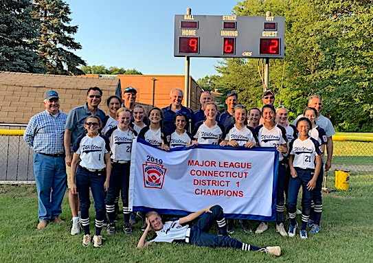 Wilton's 12U All-Star Softball Team Wins District One Championships