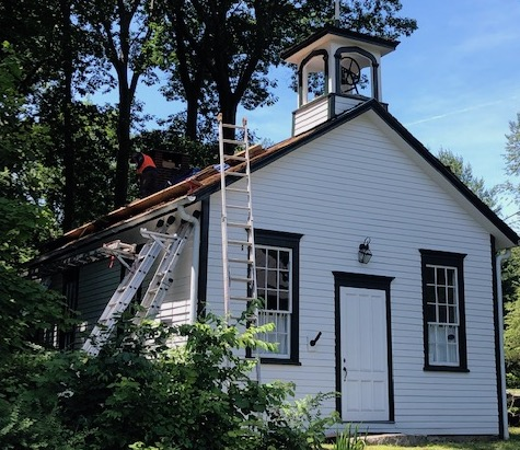 After 'Mad Scramble' to Replace Hurlbutt St. Schoolhouse Roof, Group Now Trying to Raise $$