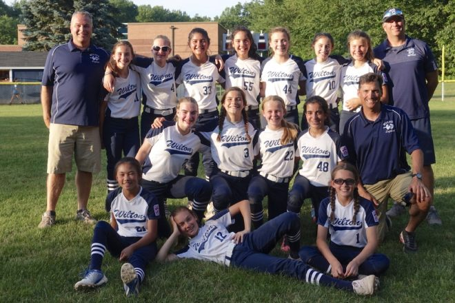 Wilton 12U Softball All-Stars in Tournament Finals Wednesday