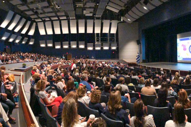 Wilton Public Schools Faculty Start Their School Year at Opening Convocation