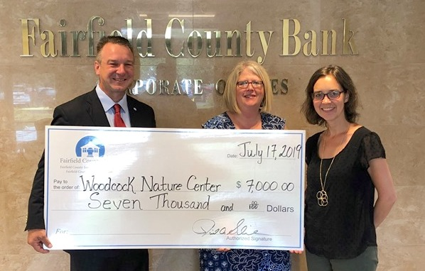 Fairfield County Bank's $7,000 Donation will Bring Underserved Communities to Woodcock Nature Center