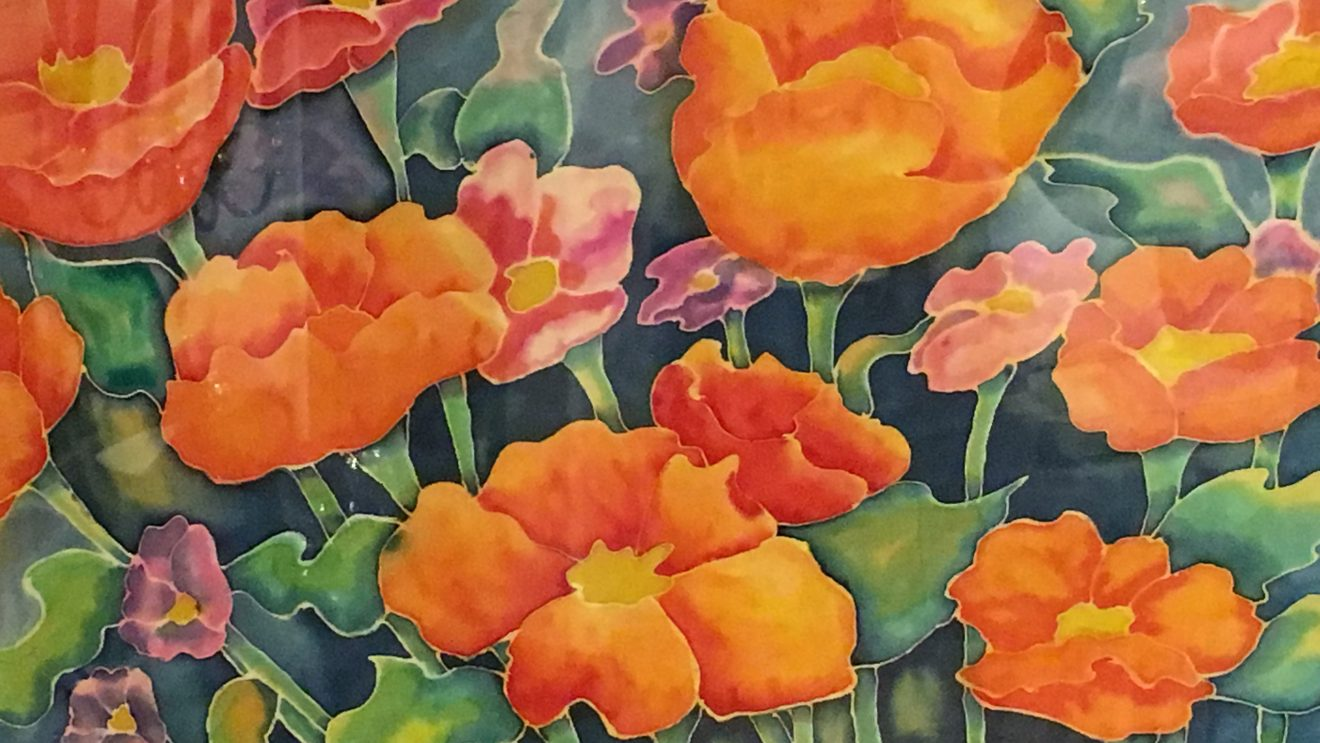 Wilton Library Embraces Silk Painters Exhibit, Opening Sept. 6