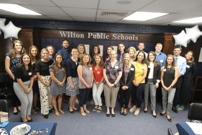 New teachers across the district