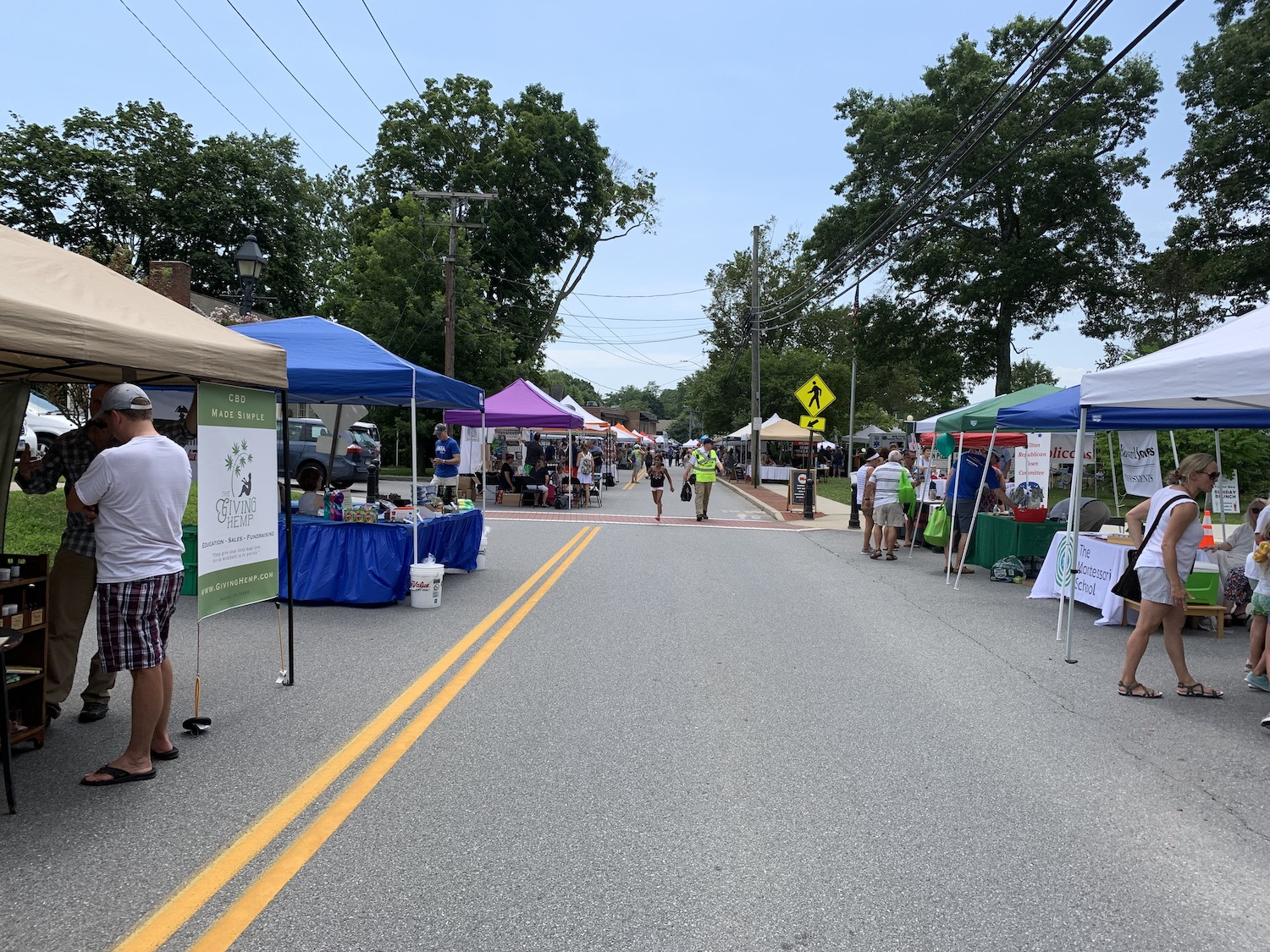 Wilton Chamber Grateful for Success of Street Fair