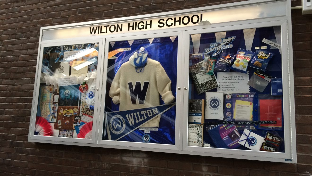 All NEW at Wilton High School–New Year, New Schedule…and New Kitchen