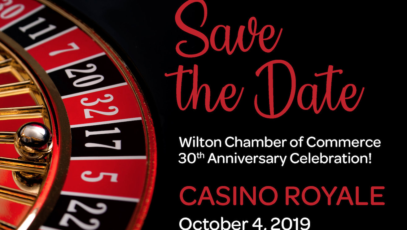 Wilton Chamber Plans Casino Royale Gala to Celebrate 30 Years