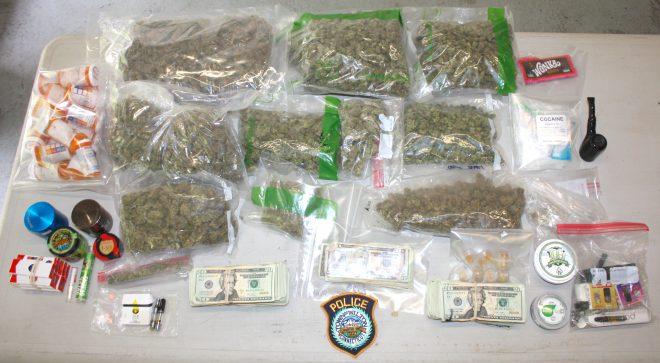 Wilton Police Seize Weed, Cocaine, LSD and $14K in Traffic Stop Arrest