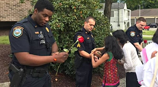 Hindu Ceremony Offers Wilton Police a Little More Extra Protection