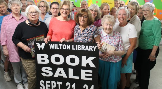 Wilton Library's Awesome Autumn Book Sale Fundraiser