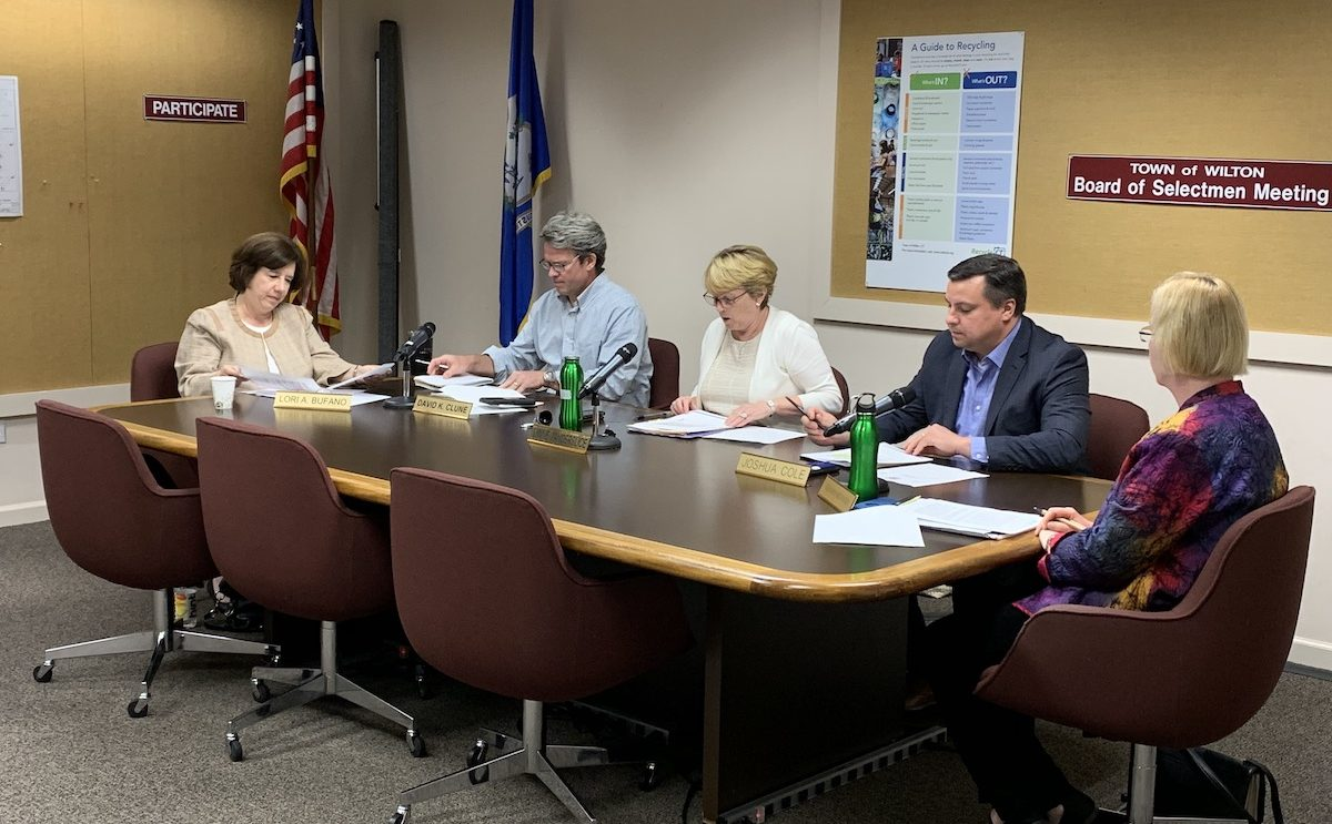 Chock Full Agenda for Tonight's Board of Selectmen Meeting