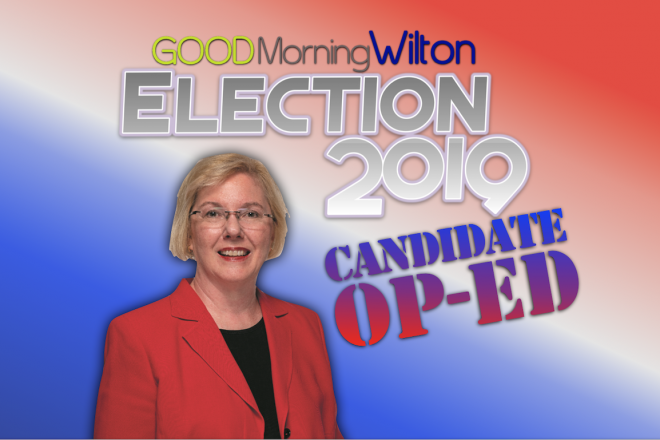 Election2019 Candidate OP-ED:  Deb McFadden, First Selectwoman