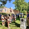 Girl Scouts and Boy Scouts Assist Wilton's American Legion with Flag Retirement Ceremony [PHOTOS]
