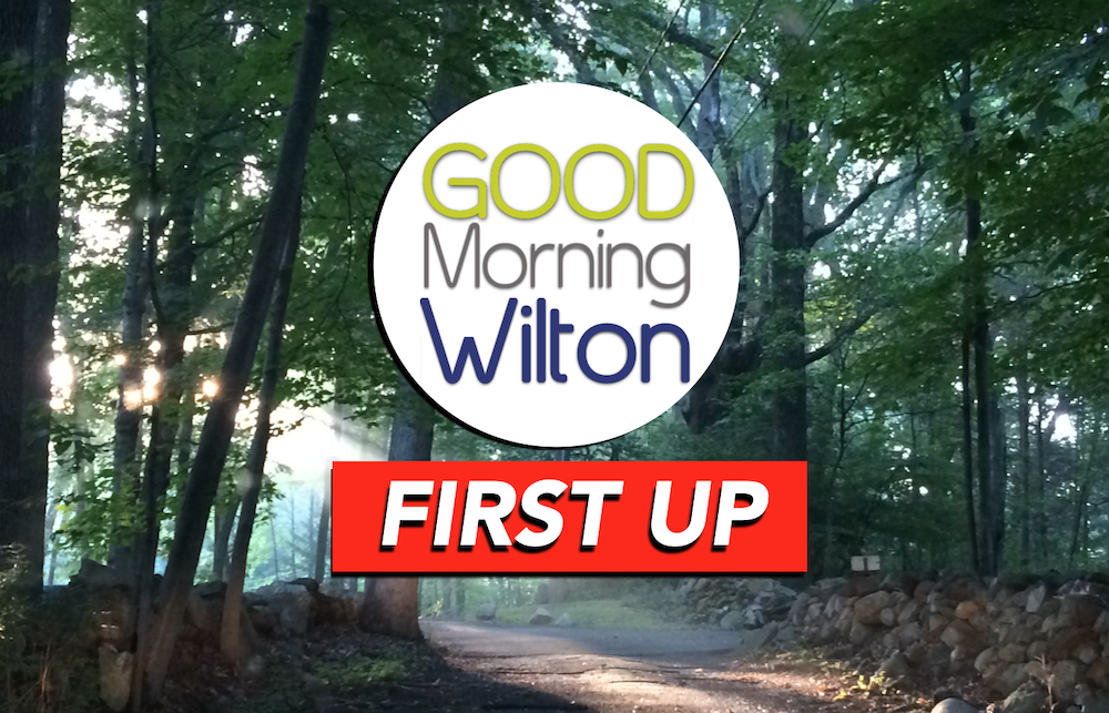 FIRST UP on GMW: Oct. 8, 2019–Himes Visits Historical Soc. * National Merit Commended WHS Students * Cider Mill Walkathon