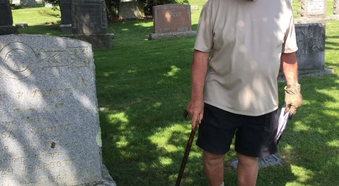 Walking Tour of Historic Hillside Cemetery with Wilton Historian Bob Russell