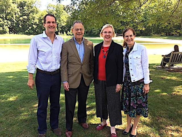 Wilton DTC Holds Annual BBQ, Welcomes Himes & Bysiewicz [PHOTOS]