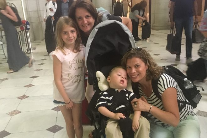 Wilton Family Goes Extra Distance for Son's Medical Care:  'You Never, EverGive Up.'
