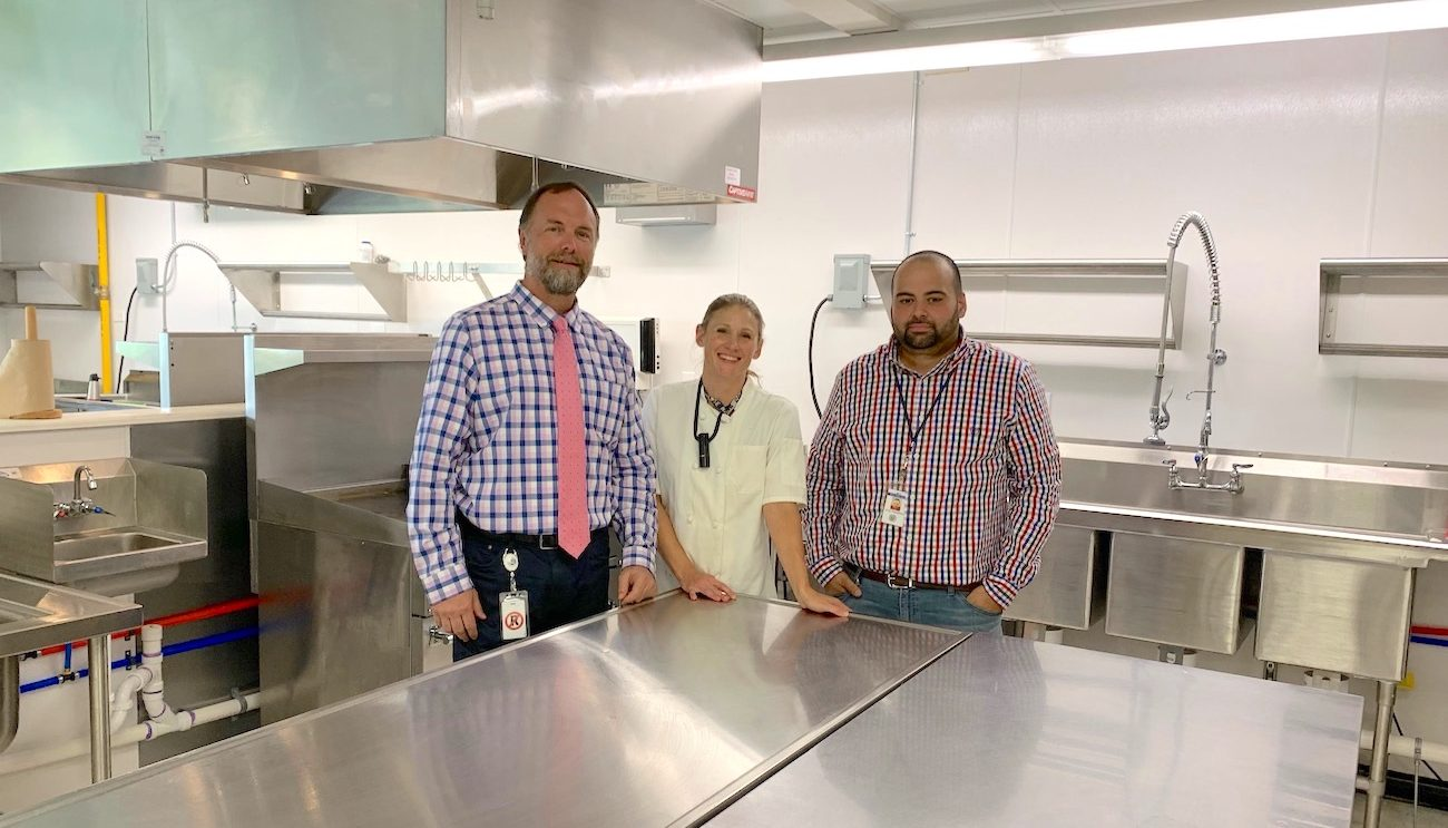 Recipe for Success in Middlebrook School's New State of the Art Kitchen