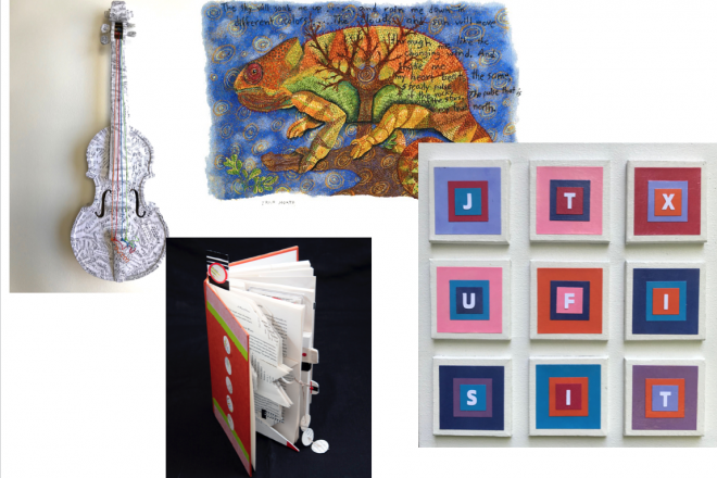 Wilton Library's October Exhibition Features Art by the Letters