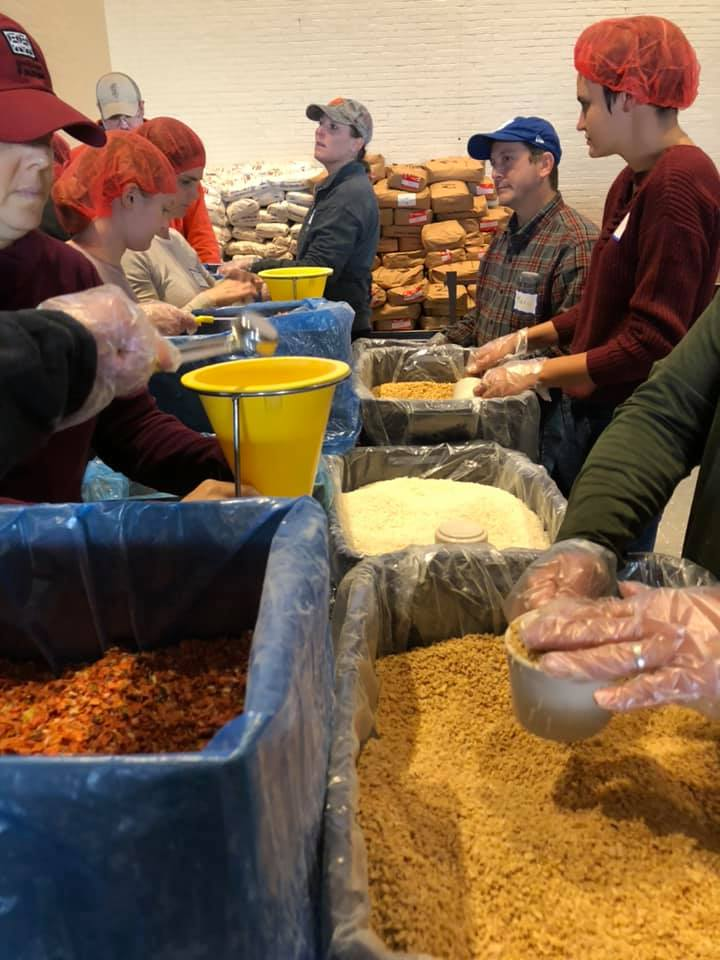 Wi-ACT's Rise Against Hunger Hits 160,000 Meals Packaged Goal [PHOTOS]