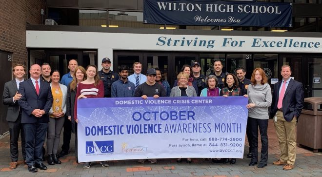 Wilton Proclaims October Domestic Violence Awareness Month [VIDEO]
