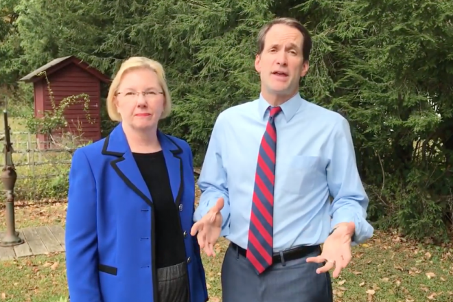Himes Endorses McFadden for First Selectwoman [VIDEO]