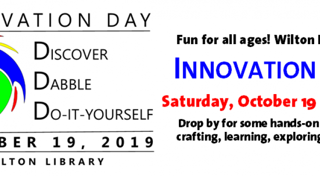 Innovation Day at Wilton Library