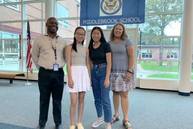 """Two Wilton Students Advocate for """"Menstrual Equity"""" in Hartford"""