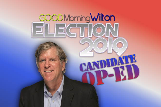Election2019 Candidate OP-ED:  Mike Kaelin, Board of Finance