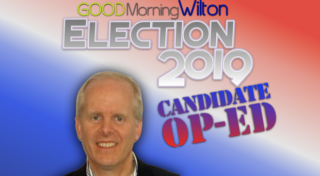 Election2019 Candidate OP-ED:  Peter R. Balderston, Board of Finance