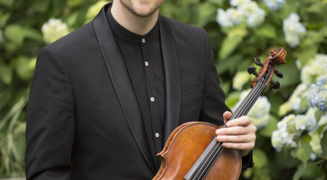 CT's Own Concert:  Nick Revel–Letters to My Future Self, Original Works for Electroacoustic Viola