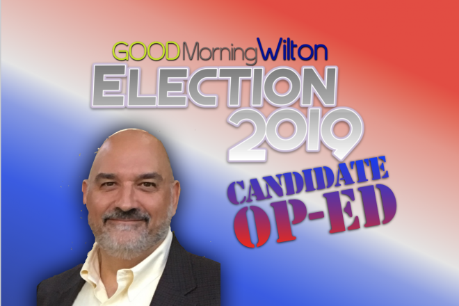 Election2019 Candidate OP-ED:  Rick Tomasetti, Planning & Zoning Commission