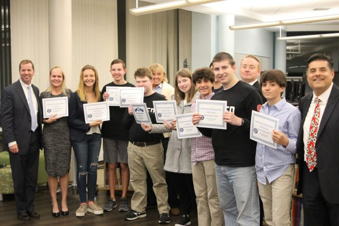 Board Of Education Recognizes Unified Team with 'Salute to Excellence'