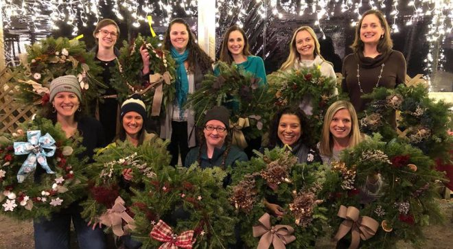 Woodcock Nature Center Wreath Festival Tickets On Sale Soon!